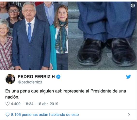 amlo y sus zapatos 1