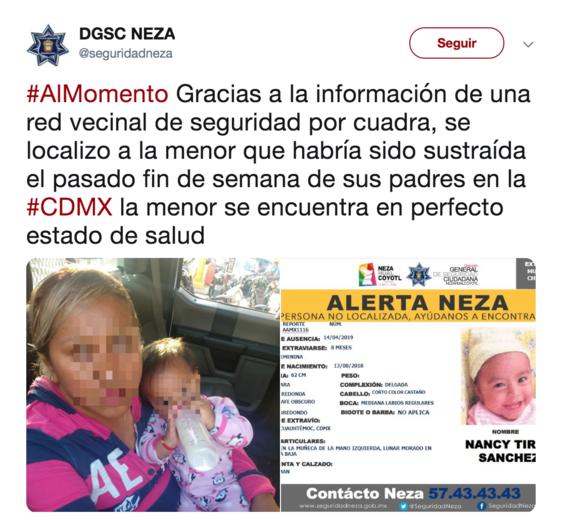 detenidos por bebe robada 2