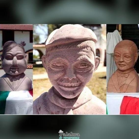 busto de cantinflas de amado montalvo 1