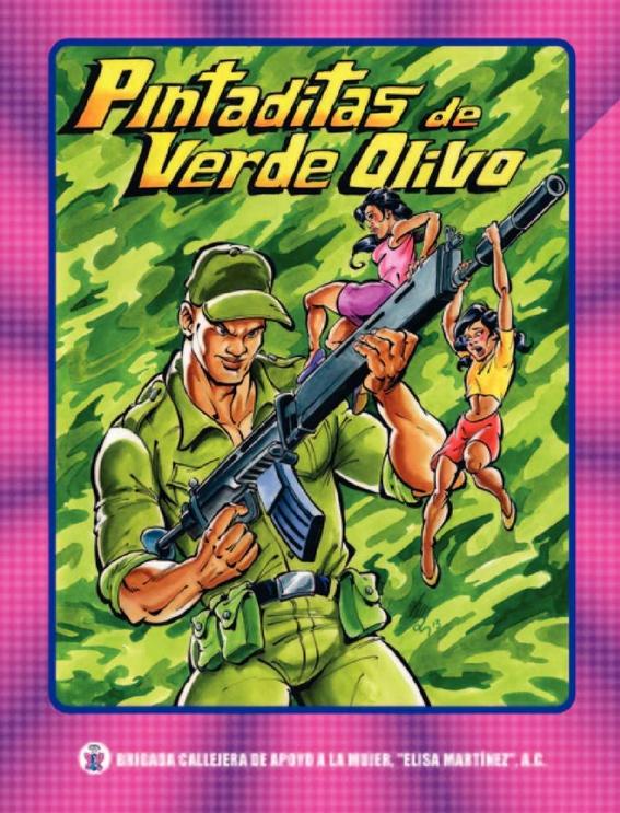 personajes de las historietas de  brigada callejera 6