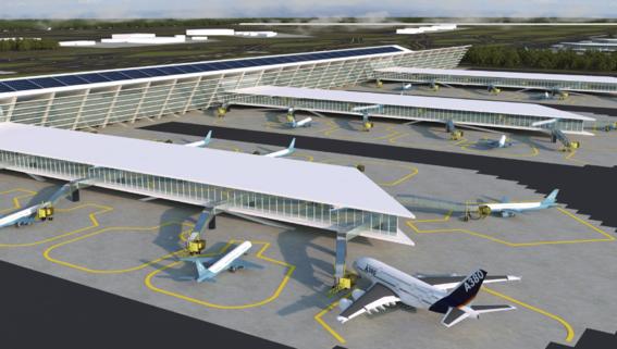 critican cerro en el nuevo aeropuerto en santa lucia 3