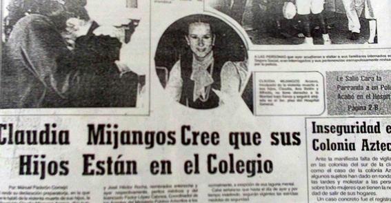 la hiena de queretaro  queda libre la hiena de queretaro la mujer que asesino a sus tres hijos 24 de abril de 1989 claudia mijangos asesin 1