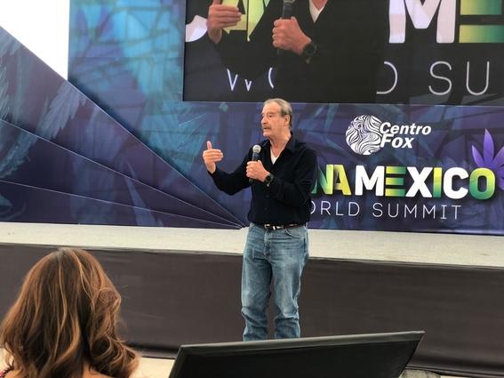 inauguracion del cannamexico 2019 vicente fox 2