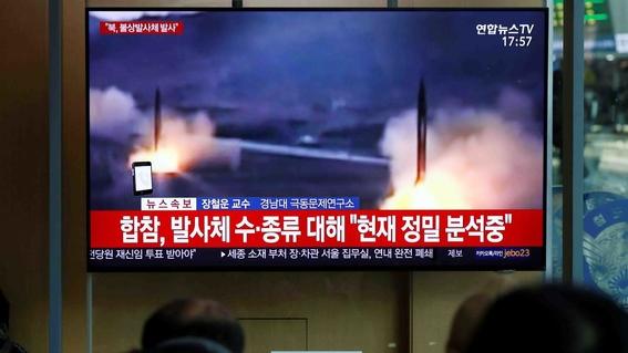 corea del norte dispara misiles de corto alcance 1