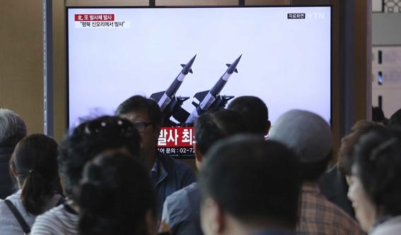 corea del norte dispara misiles de corto alcance 2