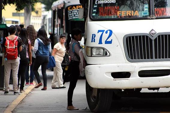 se dispara el robo a transporte publico con claudia sheinbaum 1