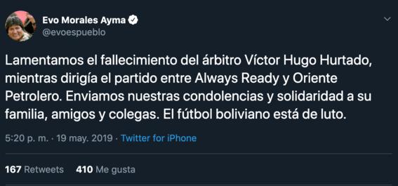 fallece arbitro boliviano en pleno juego de futbol 2