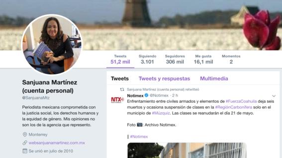 sanjuana martinez se ha visto envuelta en criticas debido a la forma en la que ha desempenado su funcion en notimex 5