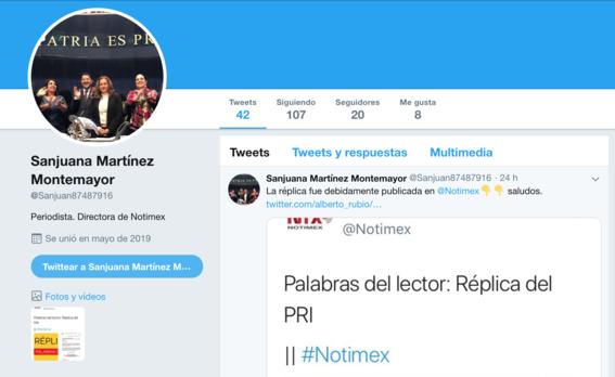 sanjuana martinez se ha visto envuelta en criticas debido a la forma en la que ha desempenado su funcion en notimex 7