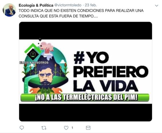 victor manuel toledo el nuevo titular de la semarnat ha mostrado contradicciones sobre amlo en sus redes sociales 8