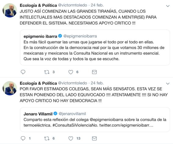 victor manuel toledo el nuevo titular de la semarnat ha mostrado contradicciones sobre amlo en sus redes sociales 9