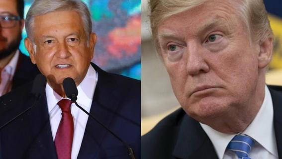 trump y amlo y aranceles de trump vs mexico 1