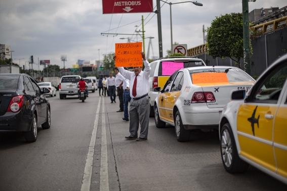 paro nacional de taxistas 2019 1