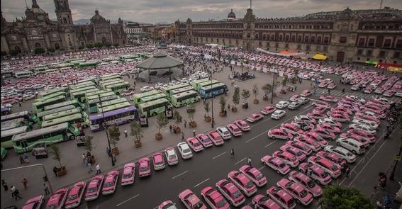 paro nacional de taxistas 2019 2