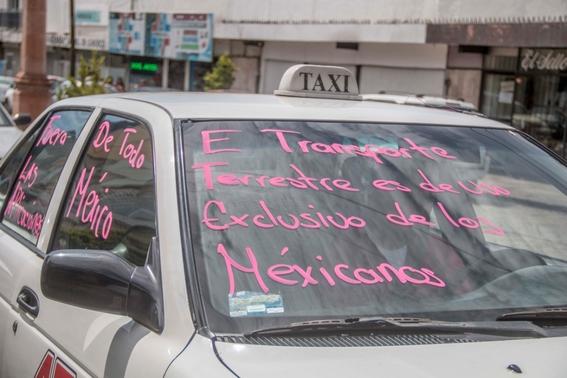 paro nacional de taxistas 2019 5