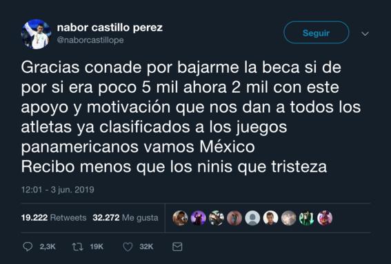 medallista mexicano que reclamo reduccion de beca pertenece a la sedena 1