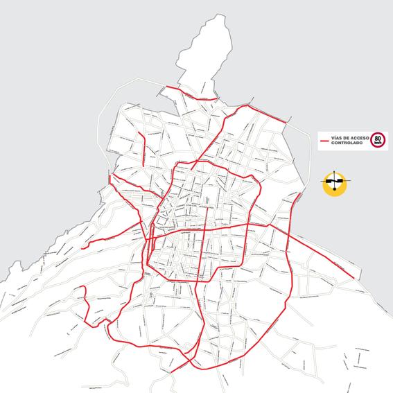 por las vias de acceso controlado no podran circular autos en los que vaya una sola persona 3