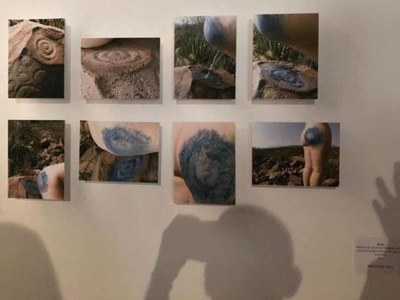 artista argentina orina pieza arqueologica en mexico 1