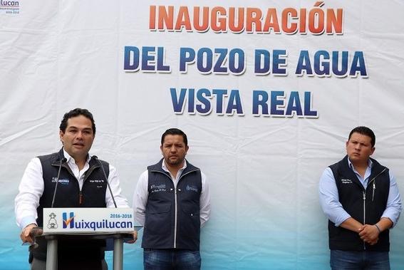 alcalde de huixquilucan ha inaugurado 7 pozos de agua durante su administracion 1