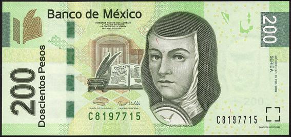 quitan imagen de sor juana de billetes de 200 pesos 2