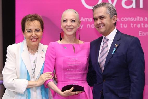 por que la actriz edith gonzalez se decia fan del cancer 1