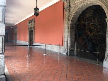 restringen espacios en palacio nacional 1