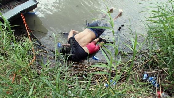 mueren padre e hija al intentar cruzar el rio bravo 1