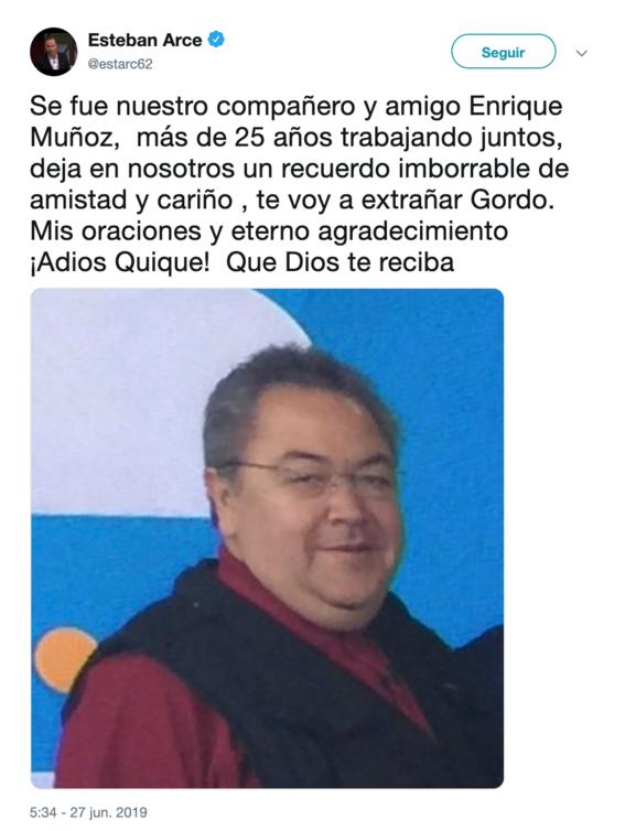 muere el reportero de foro tv enrique munoz 1