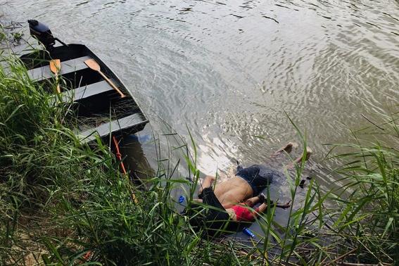 oscar y valeria mueren ahogados en el rio bravo 1