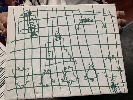 dibujos de ninos migrantes centros de detencion 1