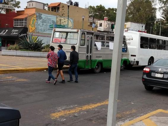 rutas peligrosas en el transporte publico cdmx 2
