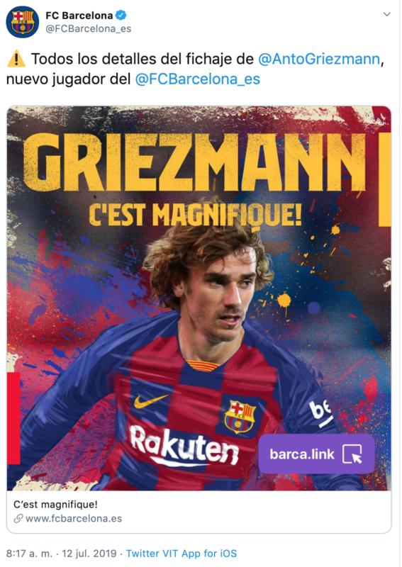 ¡antoine griezmann ya es jugador del barcelona 1