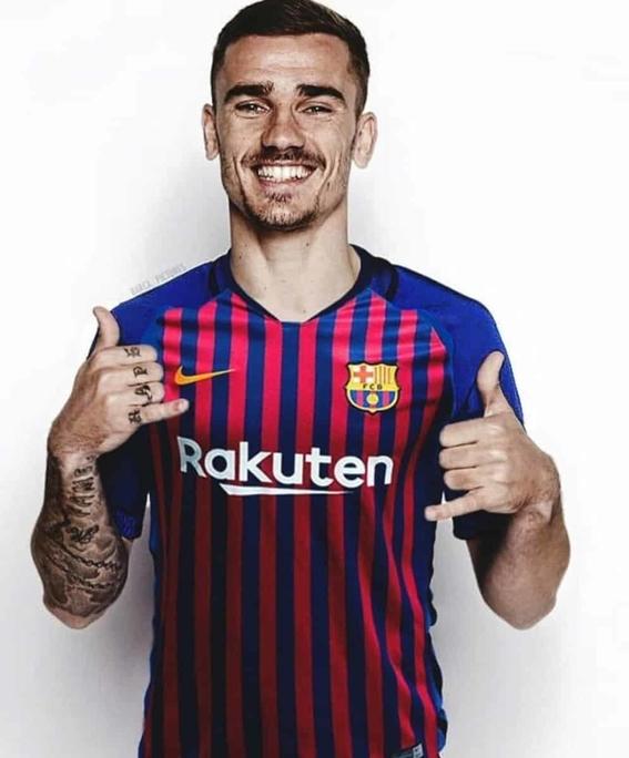 ¡antoine griezmann ya es jugador del barcelona 2