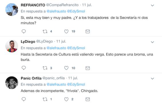 la titular de la secretaria de cultura alejandra frausto compartido una fotografia junto a edy smol que causo polemica en las redes sociales 1