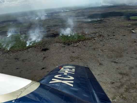 ¡dos mil hectareas de reserva natural se estan quemando en quintana roo 2