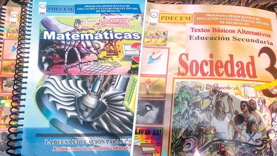 entrega la cnte libros de texto alternativos en michoacan 1