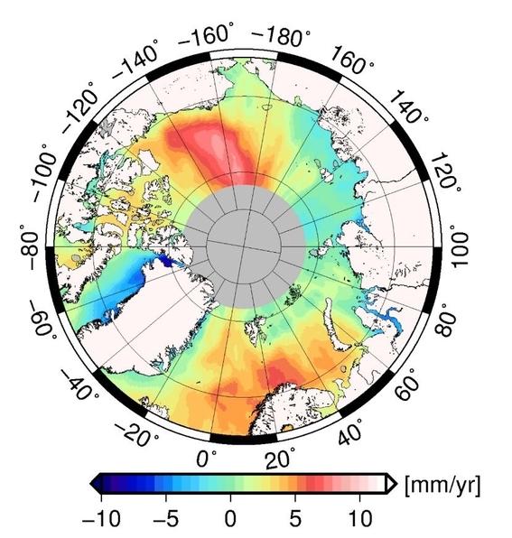 los enormes volumenes de agua dulce liberada en el artico no solo elevan el nivel del mar sino que tambien tienen el potencial de cambiar nuestr 1