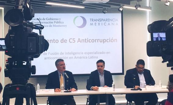 """lanzan transparencia mexicana y tecnologico de monterrey """"c5 anticorrupcion"""" 1"""