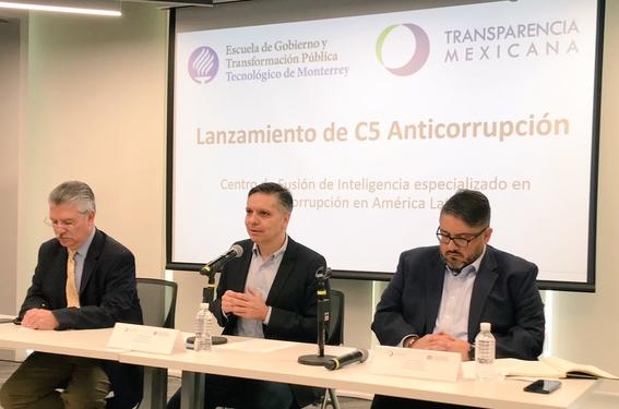 """lanzan transparencia mexicana y tecnologico de monterrey """"c5 anticorrupcion"""" 2"""