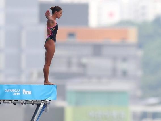 ¡adriana jimenez gana medalla de plata en mundial de natacion 1