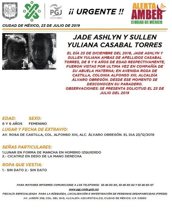 activan alerta amber para tres personas desaparecidas en alvaro obregon 4