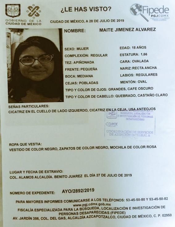 activan alerta amber para localizar a marian elizabeth juarez bonos de 13 anos 2