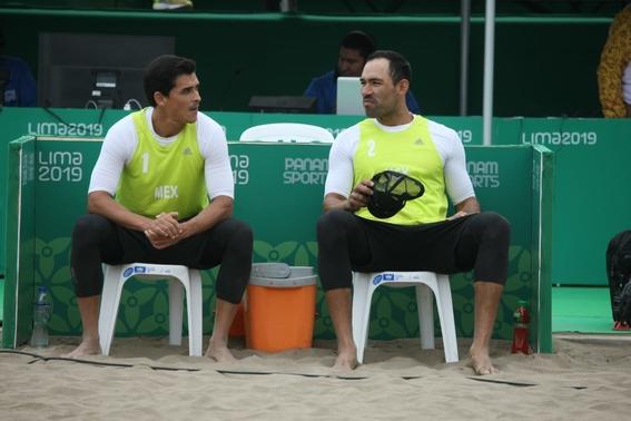 ¡mexico gana plata en voleibol de playa varonil en panamericanos 2
