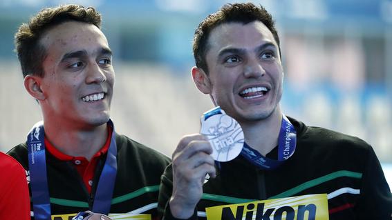 ¿quien es el clavadista juan celaya que gano oro en panamericanos 2