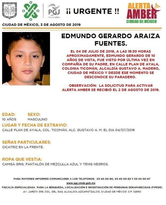 activan alerta amber para 15 menores desaparecidos en cdmx 1