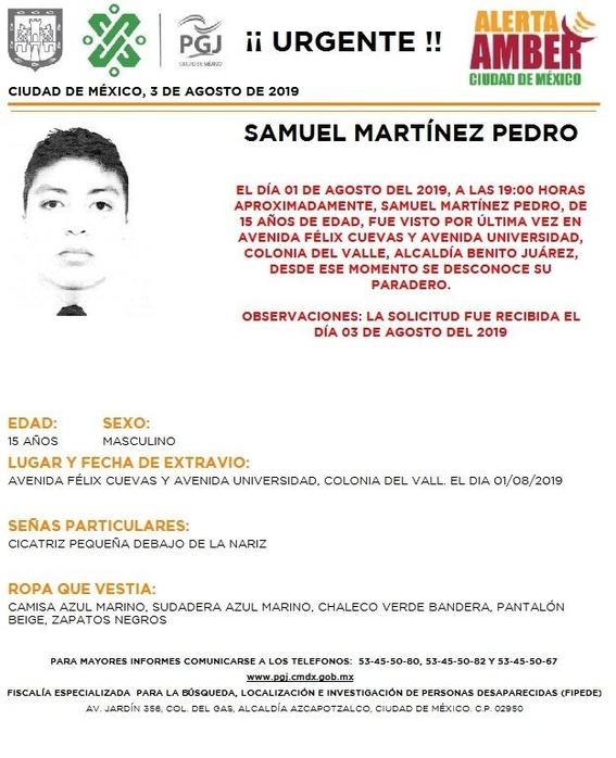 activan alerta amber para 15 menores desaparecidos en cdmx 8