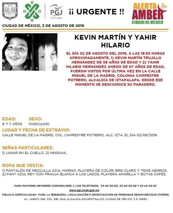 activan alerta amber para 15 menores desaparecidos en cdmx 9