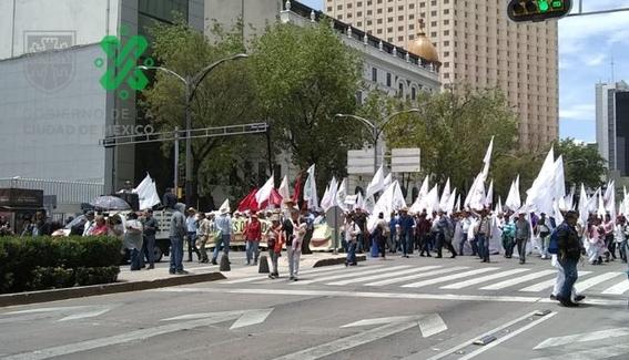 marcha campesinos frente autentico del campo 1