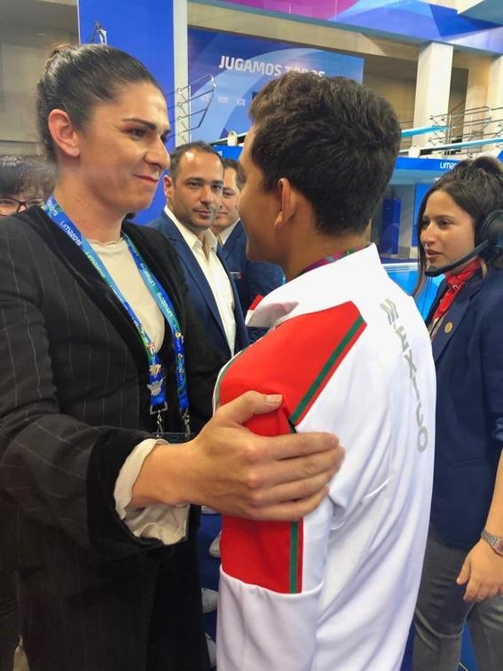 ana guevara destaca logros de atletas en panamericanos pese a grilla 1