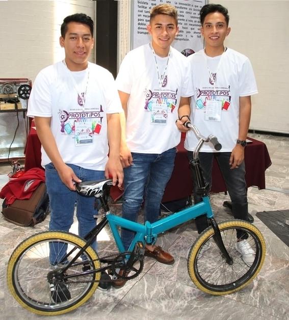 politécnicos construyen prototipo de bicicleta plegable 1